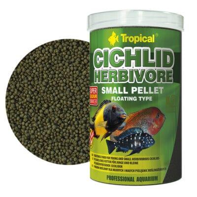 Tropical CICHLID HERBIVORE SMALL PELLET 250ml/90g