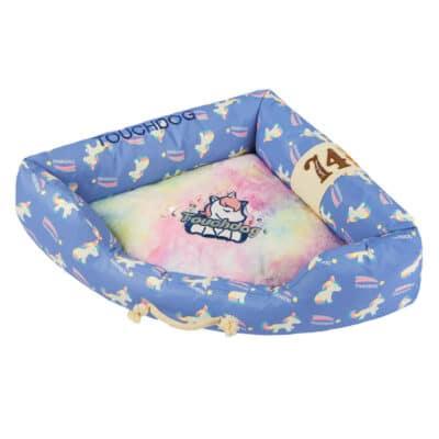 Touchdog Bed Unicorn blue