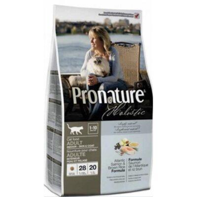 PRONATURE CAT ADULT -ATLANTIC SALMON & BROWN RICE 2,72KG