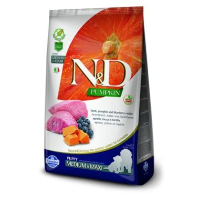 N&D Grain Free Pumpkin Lamb & Blueberry Puppy Medium & Maxi