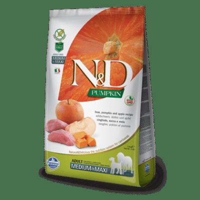 N&D Grain Free Pumpkin Boar & Apple Adult Medium & Maxi