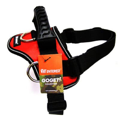 GOGET HARNESS RED 3 D-RINGS