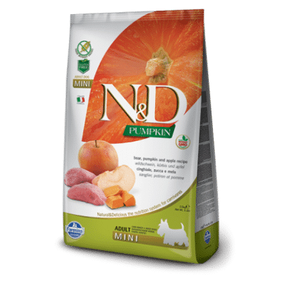 N&D Grain Free Pumpkin Boar & Apple Adult Mini
