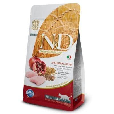 N&D Low Grain Chicken & Pomegranate Adult Cat